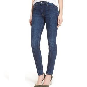 Hudson Jeans Front Seam High Waisted